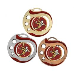 Médaille Handball Doré, Argent ou Bronze - 50MM
