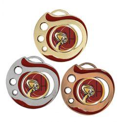 Médaille Rugby Doré, Argent ou Bronze - 50MM