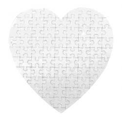 Puzzle coeur A PERSONNALISER
