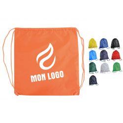 Sac à dos ficelle nylon/polyester personnalisable