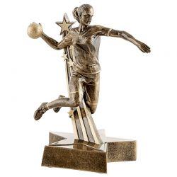 Trophée Handball féminin 21 CM personnalisable