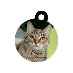 Médaille Ronde pour animaux à personnaliser FABICADO