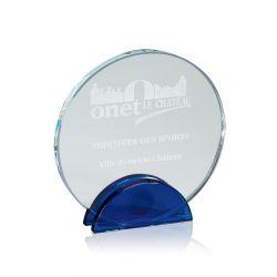 Trophée Full Verre Bleu à personnaliser