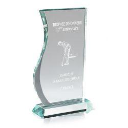Trophée Full Verre Vague personnalisable