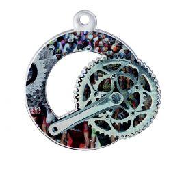 Médaille Cyclisme Métal doré - 50MM