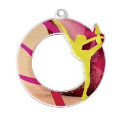 Médaille Gymnastique Acrylique - 50MM