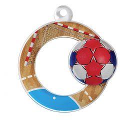 Médaille Handball Acrylique - 50MM