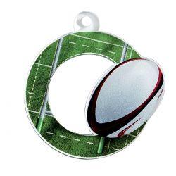 Médaille Rugby Acrylique - 50MM
