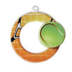 Médaille Tennis Acrylique - 50MM