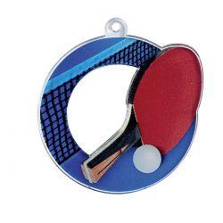 Médaille Tennis de Table Acrylique - 50MM