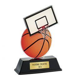 Trophée Basket Acrylique