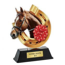 Trophée Equitation 16 cm