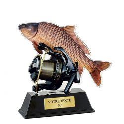 Trophée Pêche - Acrylique couleur