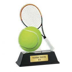 Trophée Tennis - Acrylique couleur