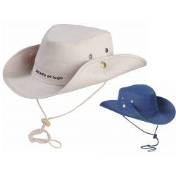 Chapeau safari personnalisé