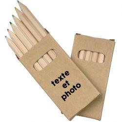 Set de crayons de couleur personnalisé