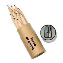 Set de 12 crayons de couleur personnalisé
