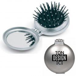 Miroir brosse pliable personnalisé