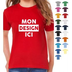 T-shirt Unisexe personnalisé