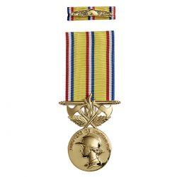 Médaille d'Ancienneté Pompiers 40 ans