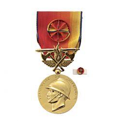 Médaille Services Exceptionnels